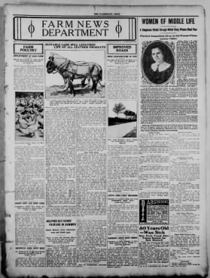 The Fairmount News from Fairmount, Indiana on August 11, 1921 · Page 7
