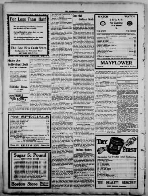 The Fairmount News from Fairmount, Indiana on August 11, 1921 · Page 8