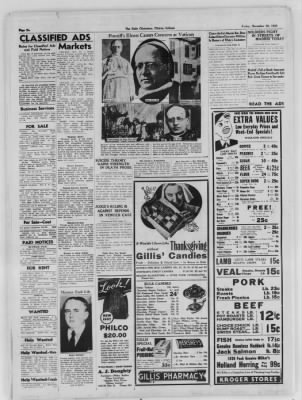 The Daily Clintonian from Clinton, Indiana on November 20, 1936 · Page 6