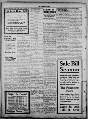 The Fairmount News from Fairmount, Indiana on August 15, 1921 · Page 4