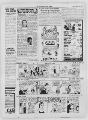 The Daily Clintonian from Clinton, Indiana on November 20, 1936 · Page 10