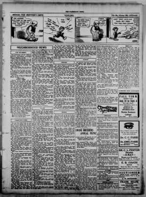 The Fairmount News from Fairmount, Indiana on August 18, 1921 · Page 5