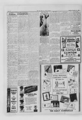 The Daily Clintonian from Clinton, Indiana on November 21, 1936 · Page 2