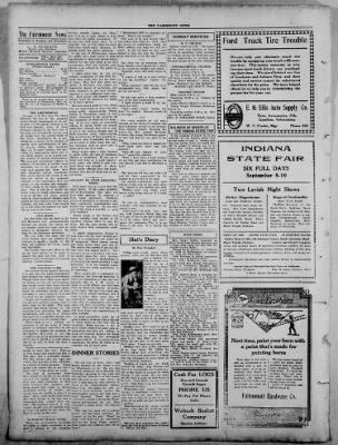The Fairmount News from Fairmount, Indiana on September 1, 1921 · Page 4