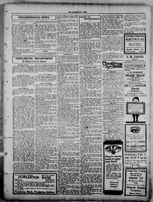 The Fairmount News from Fairmount, Indiana on September 8, 1921 · Page 5