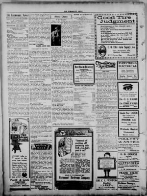 The Fairmount News from Fairmount, Indiana on September 12, 1921 · Page 2