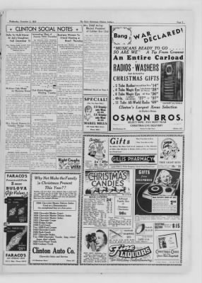 The Daily Clintonian from Clinton, Indiana on December 2, 1936 · Page 3