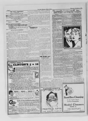 The Daily Clintonian from Clinton, Indiana on December 2, 1936 · Page 8