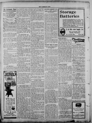 The Fairmount News from Fairmount, Indiana on September 22, 1921 · Page 4