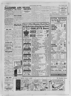 The Daily Clintonian from Clinton, Indiana on December 4, 1936 · Page 6