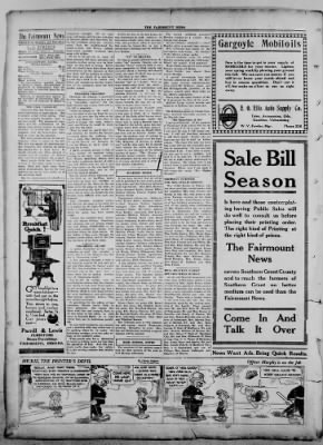 The Fairmount News from Fairmount, Indiana on September 29, 1921 · Page 4