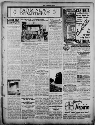 The Fairmount News from Fairmount, Indiana on September 29, 1921 · Page 7