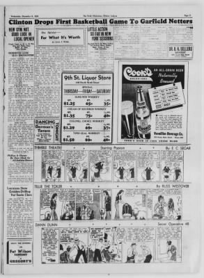 The Daily Clintonian from Clinton, Indiana on December 9, 1936 · Page 5