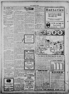 The Fairmount News from Fairmount, Indiana on October 13, 1921 · Page 4