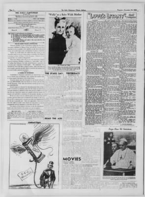 The Daily Clintonian from Clinton, Indiana on December 10, 1936 · Page 6