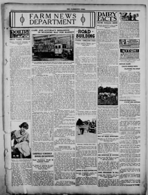 The Fairmount News from Fairmount, Indiana on October 13, 1921 · Page 7