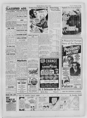 The Daily Clintonian from Clinton, Indiana on December 10, 1936 · Page 8
