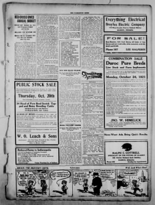 The Fairmount News from Fairmount, Indiana on October 17, 1921 · Page 3