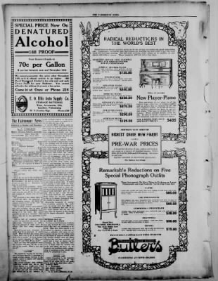 The Fairmount News from Fairmount, Indiana on October 27, 1921 · Page 4