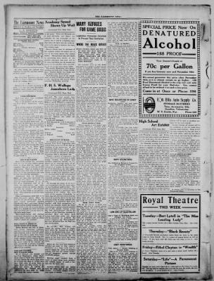 The Fairmount News from Fairmount, Indiana on October 31, 1921 · Page 2