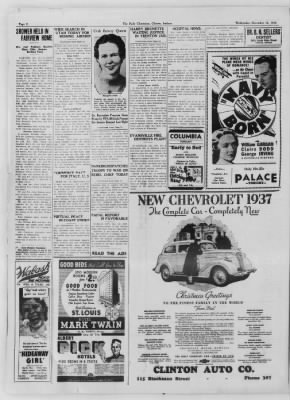 The Daily Clintonian from Clinton, Indiana on December 16, 1936 · Page 2