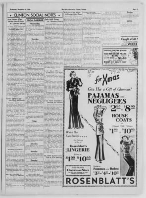 The Daily Clintonian from Clinton, Indiana on December 16, 1936 · Page 3