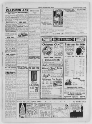The Daily Clintonian from Clinton, Indiana on December 16, 1936 · Page 6