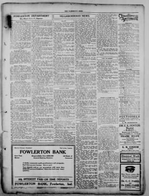 The Fairmount News from Fairmount, Indiana on November 3, 1921 · Page 5