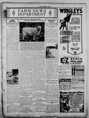 The Fairmount News from Fairmount, Indiana on November 3, 1921 · Page 7