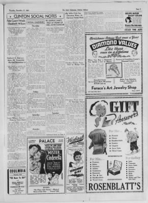 The Daily Clintonian from Clinton, Indiana on December 17, 1936 · Page 5
