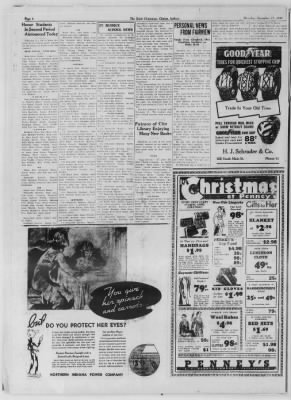 The Daily Clintonian from Clinton, Indiana on December 17, 1936 · Page 6