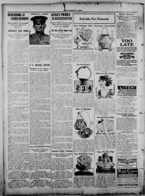 The Fairmount News from Fairmount, Indiana on November 10, 1921 · Page 2