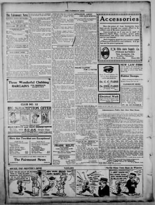 The Fairmount News from Fairmount, Indiana on November 10, 1921 · Page 4