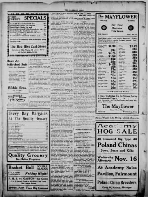 The Fairmount News from Fairmount, Indiana on November 10, 1921 · Page 8