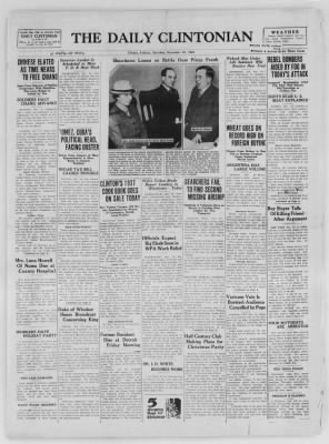 The Daily Clintonian from Clinton, Indiana on December 19, 1936 · Page 1