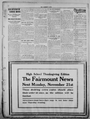 The Fairmount News from Fairmount, Indiana on November 14, 1921 · Page 3
