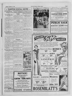 The Daily Clintonian from Clinton, Indiana on December 21, 1936 · Page 3
