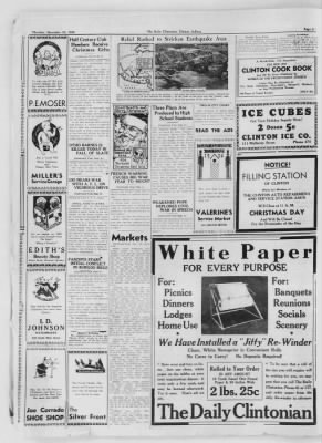 The Daily Clintonian from Clinton, Indiana on December 24, 1936 · Page 4