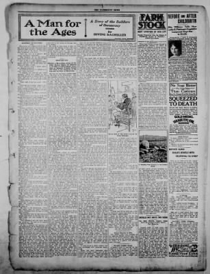 The Fairmount News from Fairmount, Indiana on December 8, 1921 · Page 3