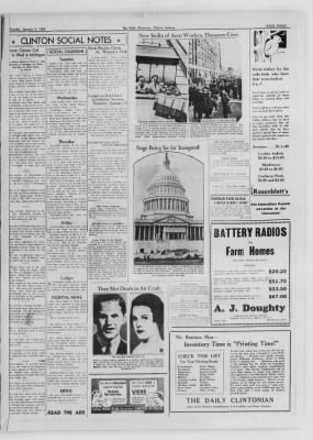 The Daily Clintonian from Clinton, Indiana on January 5, 1937 · Page 3