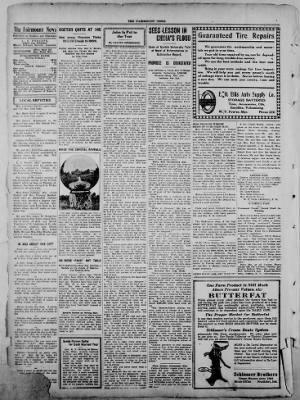 The Fairmount News from Fairmount, Indiana on January 5, 1922 · Page 4