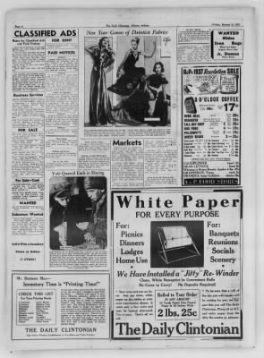 The Daily Clintonian from Clinton, Indiana on January 8, 1937 · Page 8