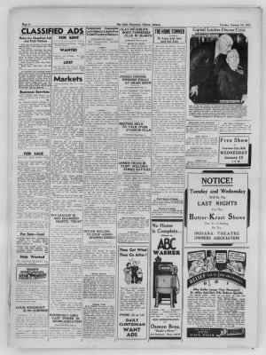 The Daily Clintonian from Clinton, Indiana on January 12, 1937 · Page 8