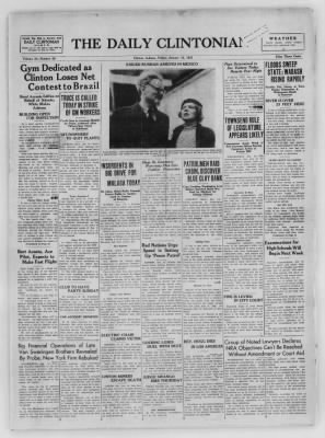 The Daily Clintonian from Clinton, Indiana on January 15, 1937 · Page 1