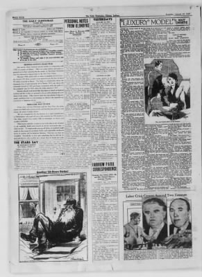 The Daily Clintonian from Clinton, Indiana on January 16, 1937 · Page 4