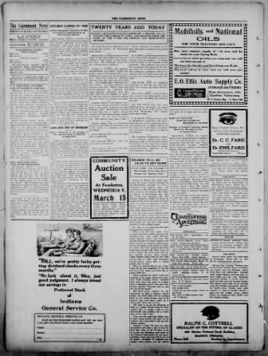 The Fairmount News from Fairmount, Indiana on March 6, 1922 · Page 2