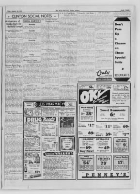 The Daily Clintonian from Clinton, Indiana on January 22, 1937 · Page 3