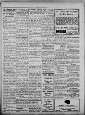 The Fairmount News from Fairmount, Indiana on March 20, 1922 · Page 2