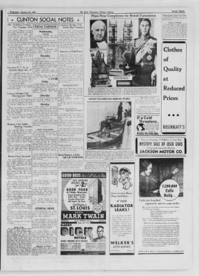 The Daily Clintonian from Clinton, Indiana on January 27, 1937 · Page 3