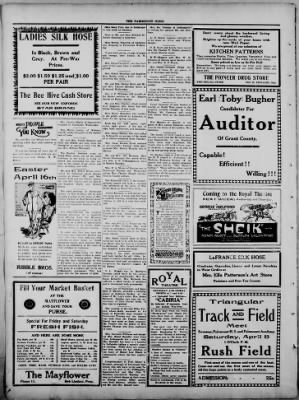 The Fairmount News from Fairmount, Indiana on April 6, 1922 · Page 8